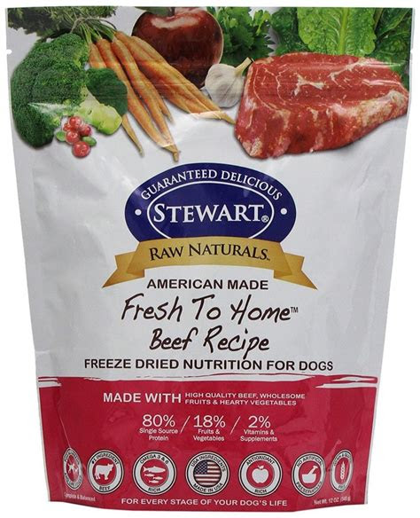 raw naturals  stewart freeze dried dog food