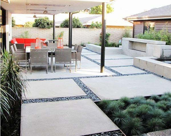 Concrete Slab Patio Design Ideas