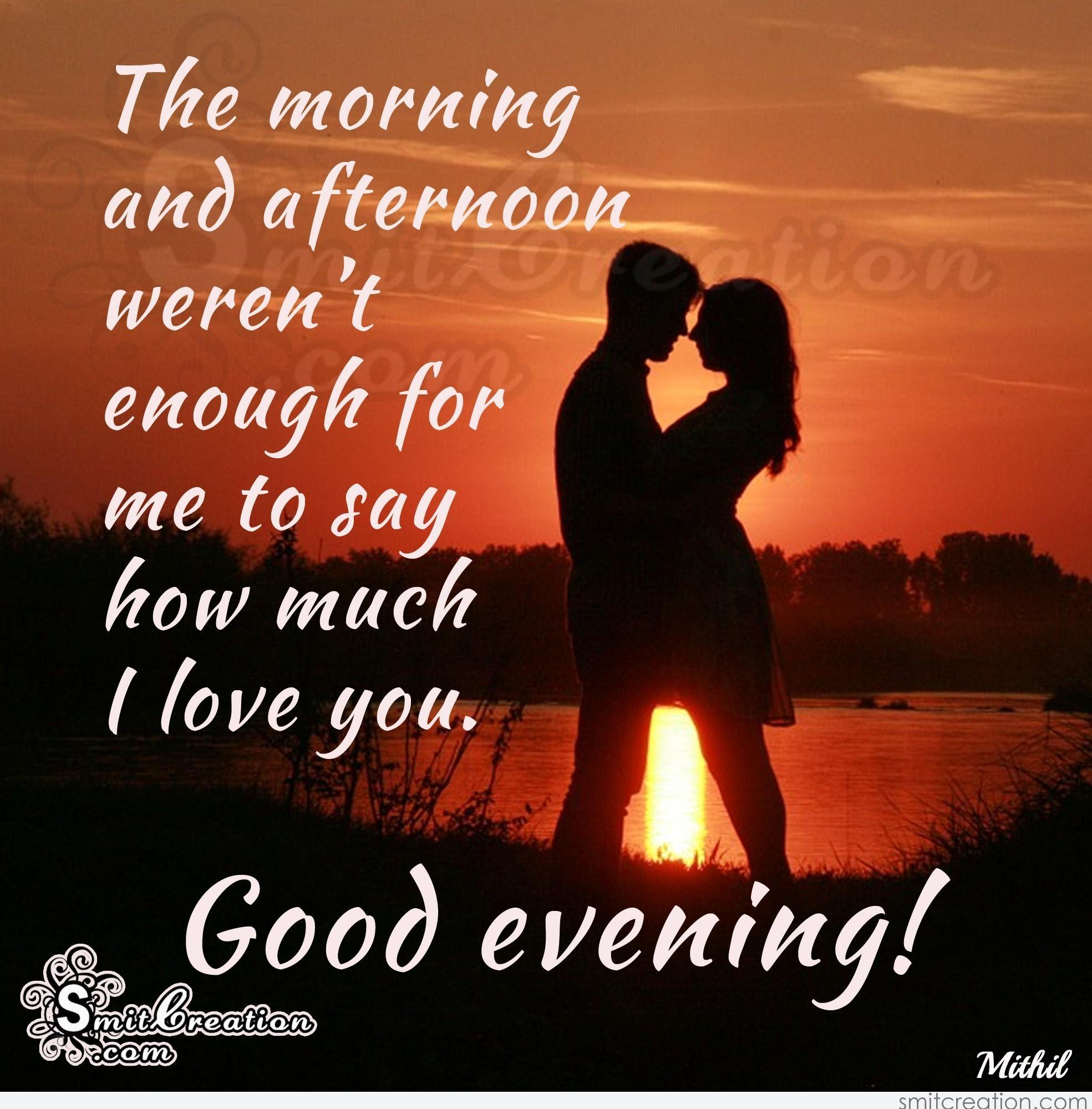 Romantic Gud Evening Quotes Managementdynamicsinfo