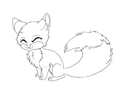 coloring pages of baby foxes at getdrawings  free download