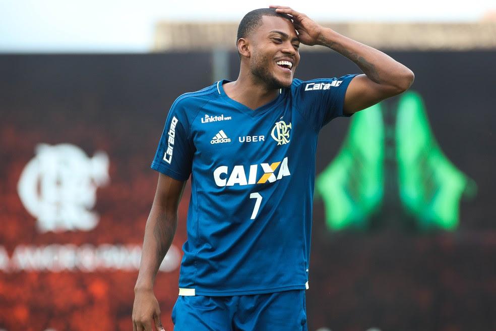 Marcelo Cirino deve ser anunciado pelo Inter ainda nesta segunda-feira (Foto: Gilvan de Souza/Divulgação Flamengo)
