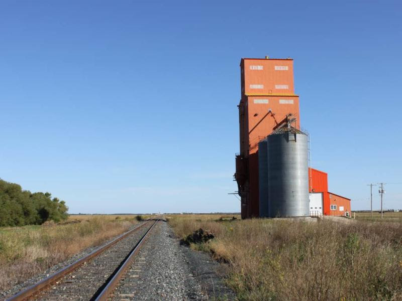 CP Emerson subdivision and Carey grain elevator
