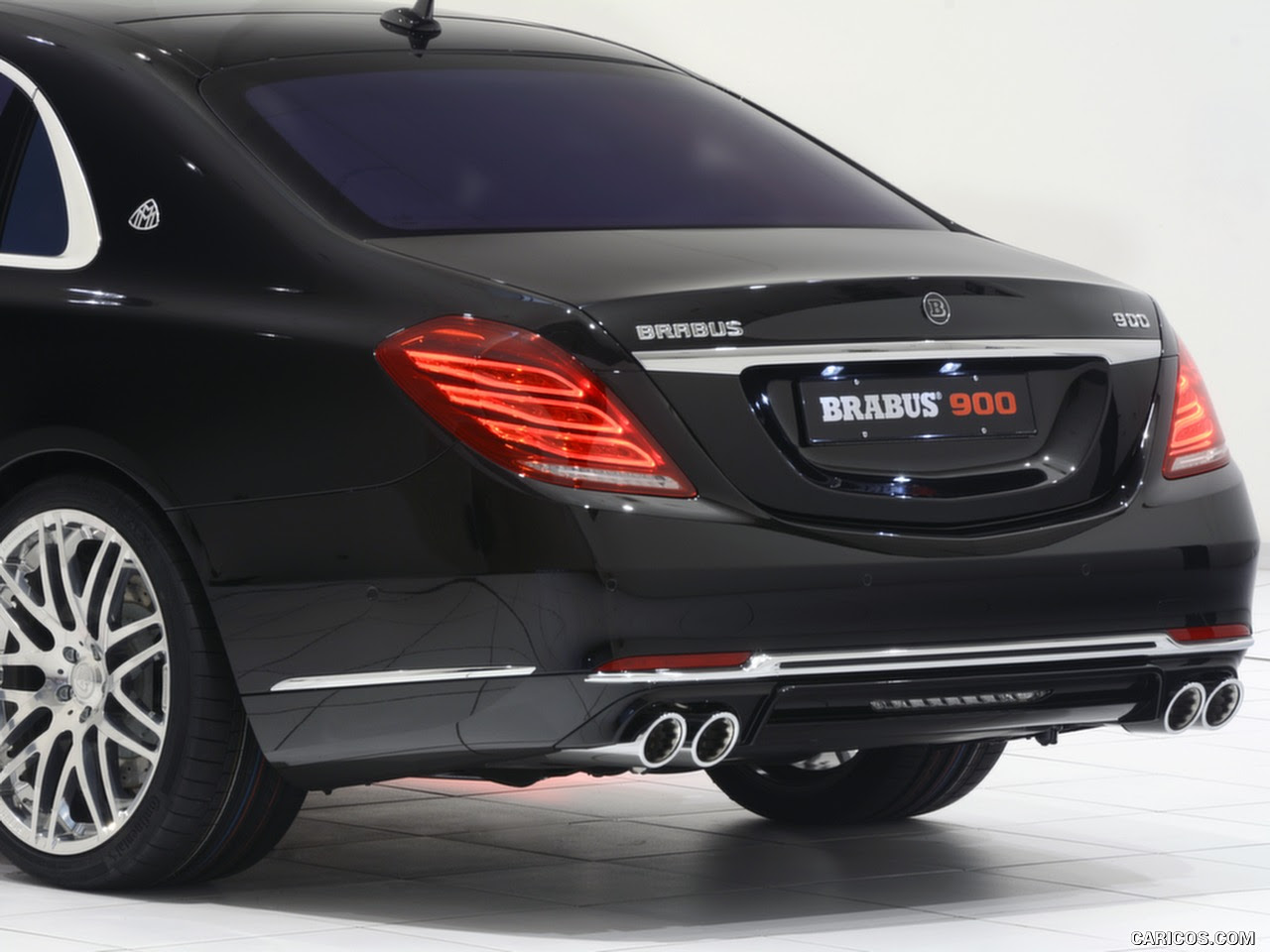 2016 BRABUS 900 Mercedes-Maybach S600 - Rear | HD Wallpaper #29