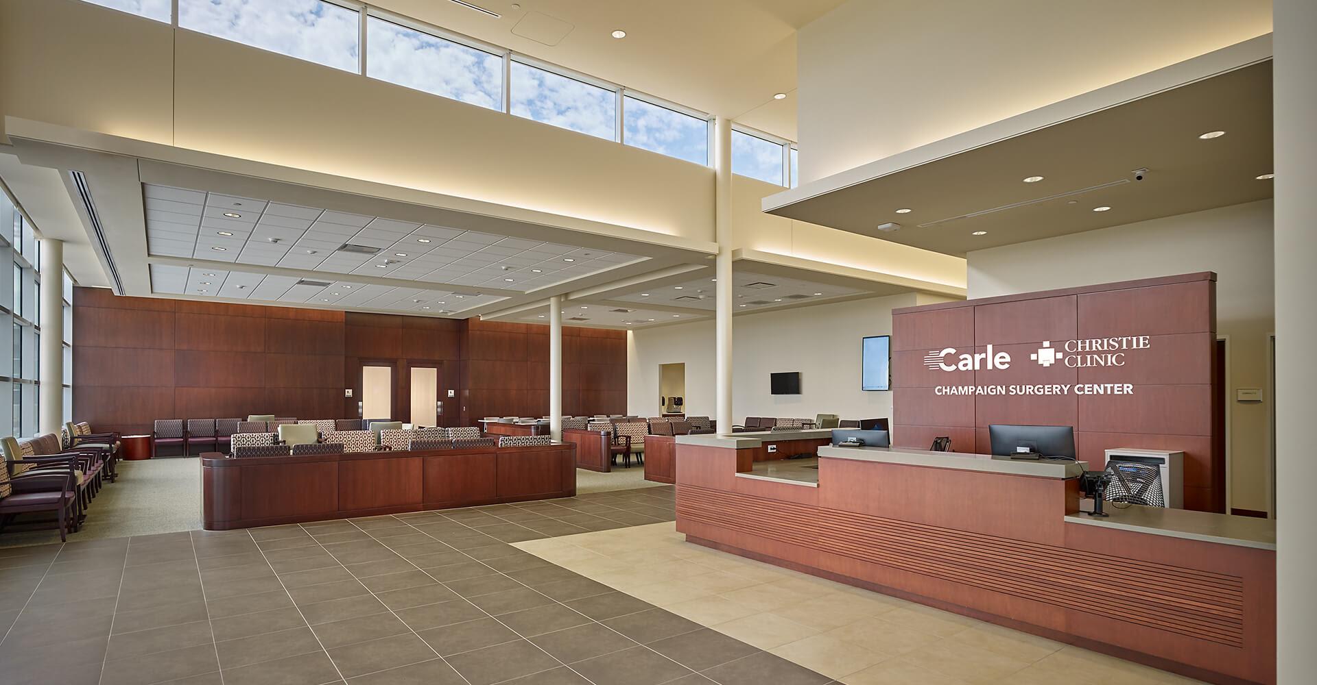 Campus Map Carle Foundation Hospital