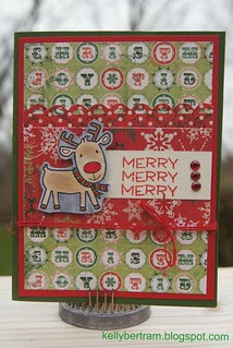 Christmas Card w/ Bo Bunny