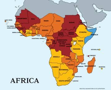 África, en la lista negra sobre tráfico de personas
