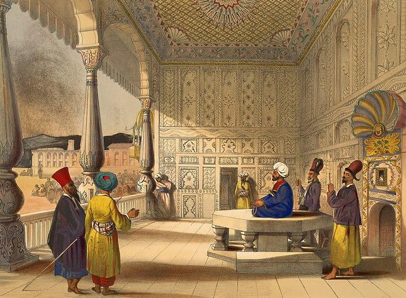 Archivo: Shuja Shah Durrani de Afganistán en 1839.jpg