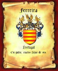 Brasão Família FERREIRA
