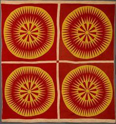 Sunburst quilt