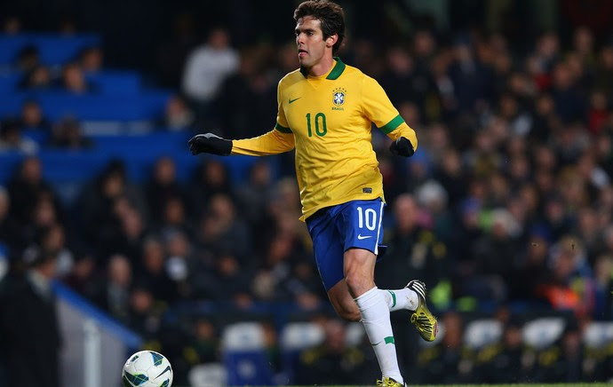 Kaká Brasil x Rússia (Foto: Reuters)