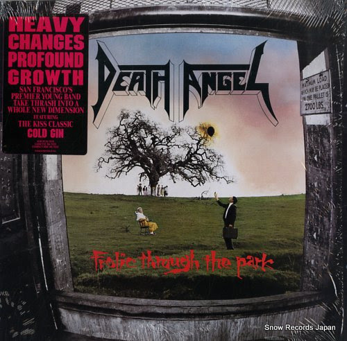 DEATH ANGEL frolic through the park