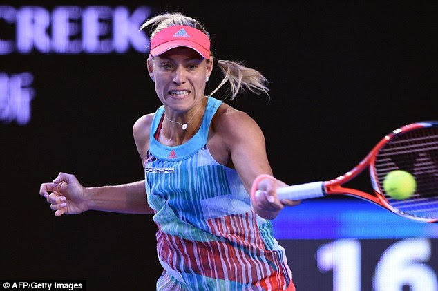 Kerber has also previously revealed that so far tennis is her only love, as there hasn't been any time to have a relationship