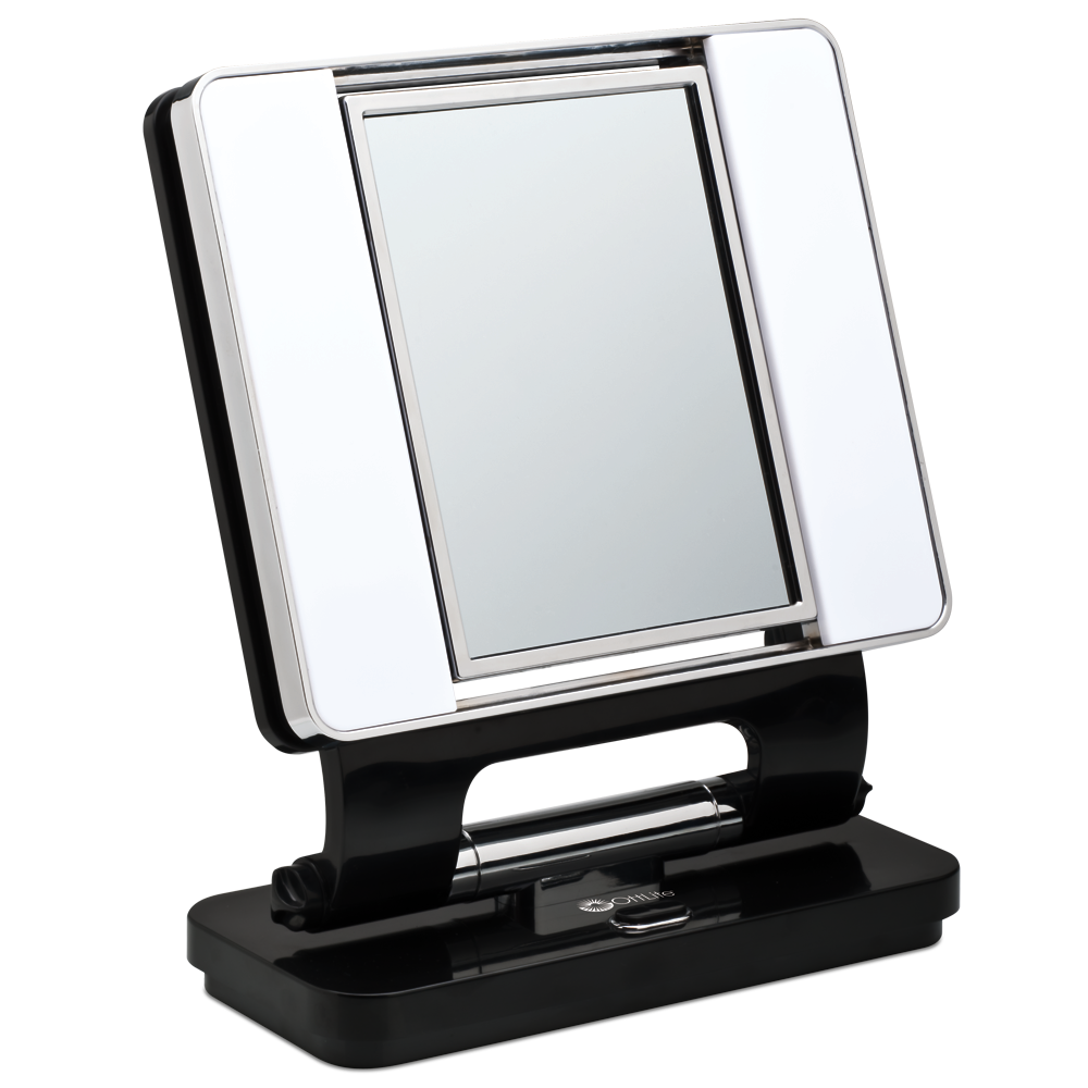 Ottlite Natural Lighted Makeup Mirror White Vanity Lighted Mirrors