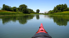Parc de Boucherville, Chenal la Passe from the kayak