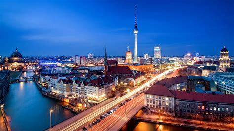 Download Wallpaper 1920x1080 alexanderplatz, berlin