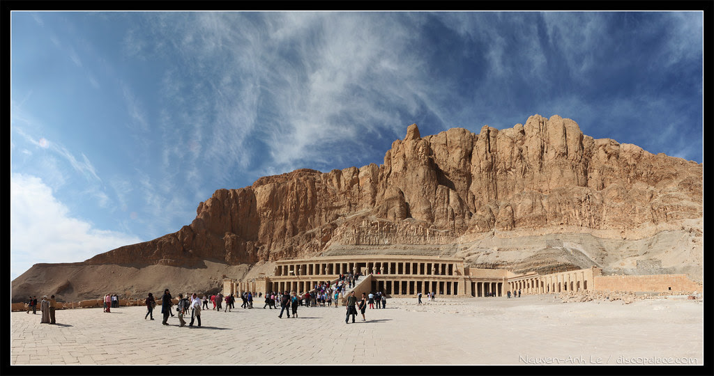 Hatshepsut Mortuary Temple - Valley of the Kings, Egypt