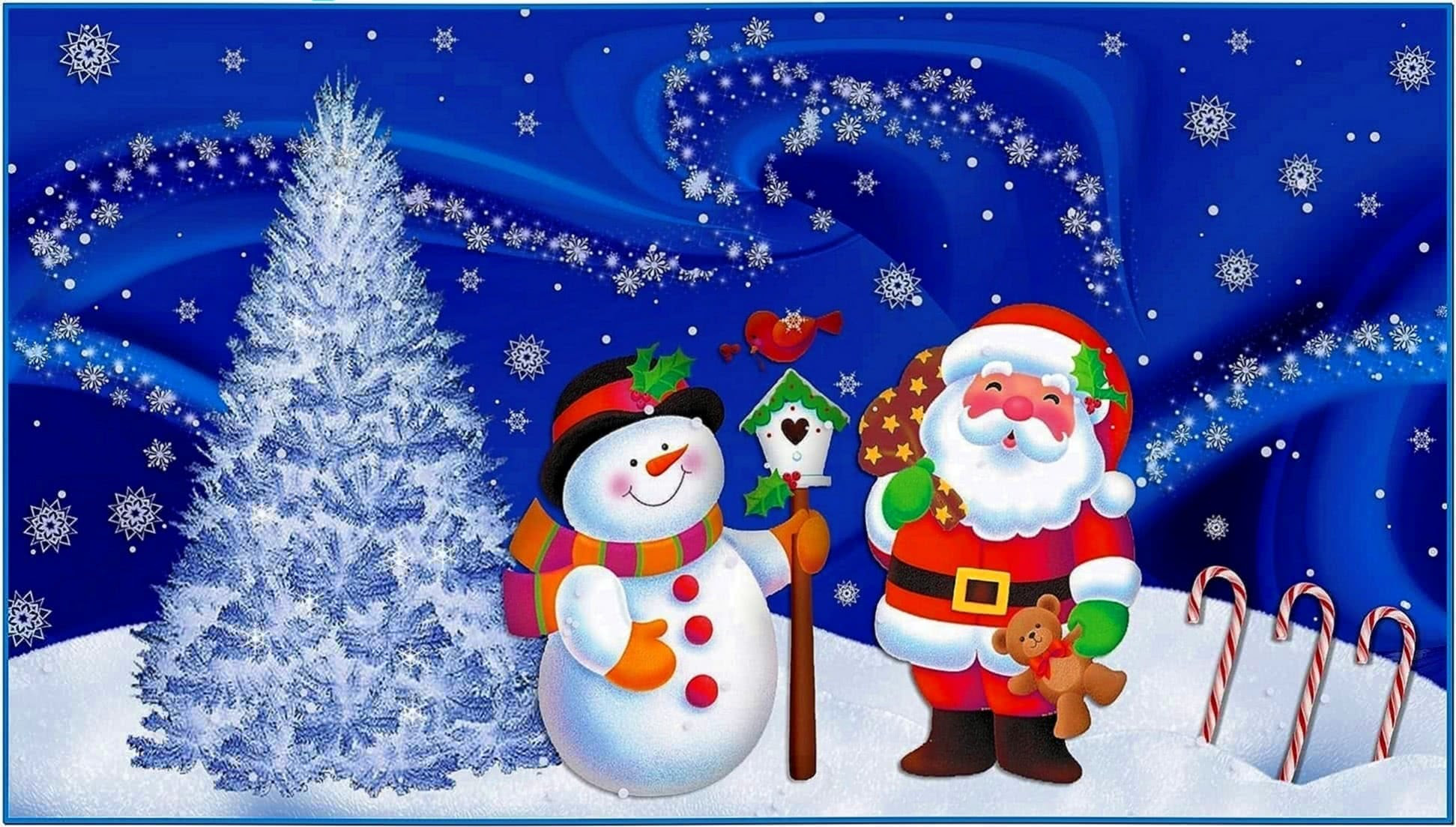Christmas wallpapers and screensavers - Download free