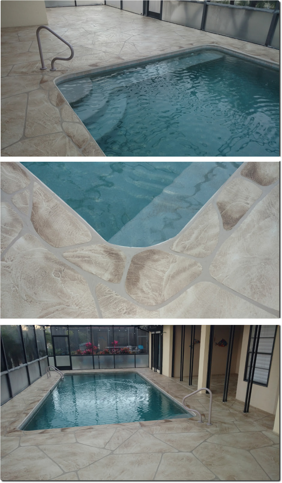 Concrete Landscape Curbing Cape Coral Fl Pool Deck Resurfacing