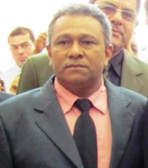 Prefeito da Raposa, Clodomir Santos.