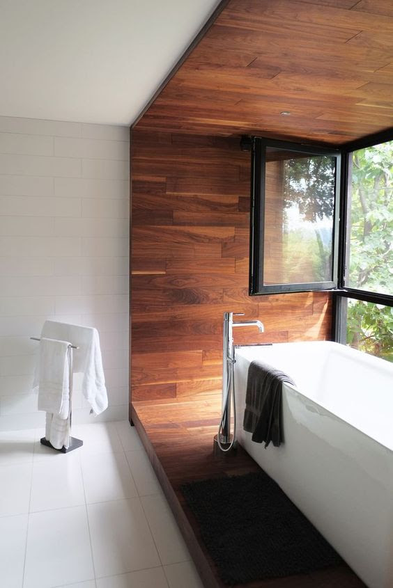 Inspirations of Wood Accent for Modern Homes | HomesFeed
