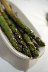 Grilled Jumbo Asparagus, Morton's The Steakhouse, San Francisco