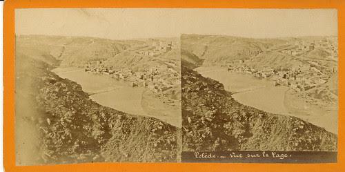 Fotografía estereoscópica de Toledo.