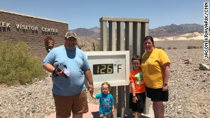 'This is on another level': They came, they camped, they baked at Death Valley