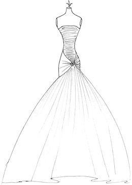 20 Latest Easy Fashion Dress Drawings