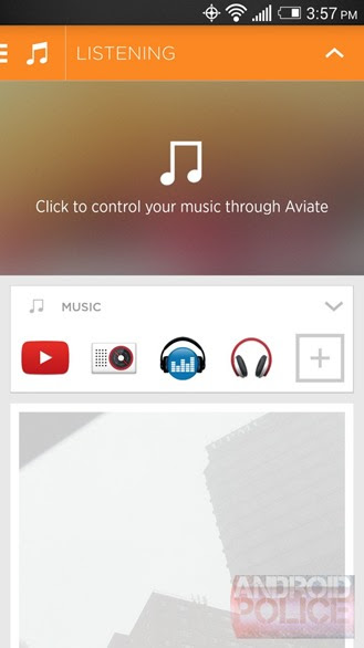 Aviate's First Update Since Being Bought By Yahoo Introduces A New 'Listening Space' For Managing Music