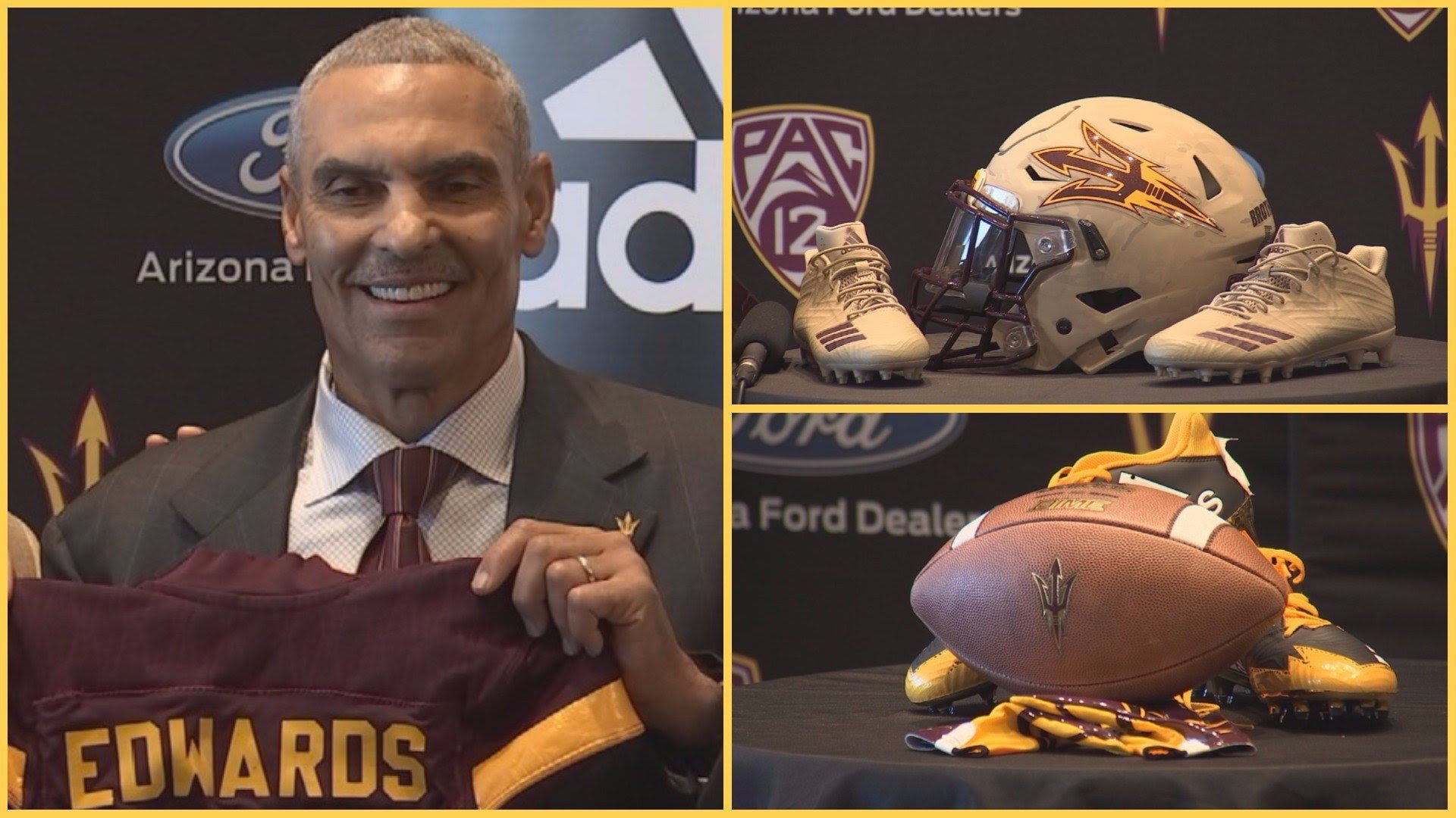 FAST FACTS New ASU Sun Devils football coach Herm Edwards