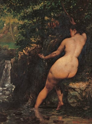 Courbet - backs in art