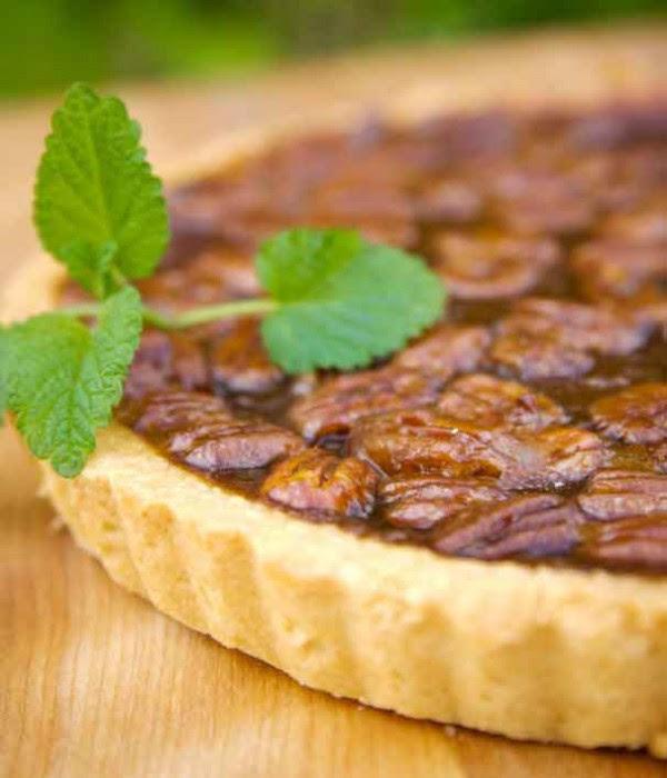 Chocolate Pecan Bourbon Pie - Photo Credit Delightful Pastries
