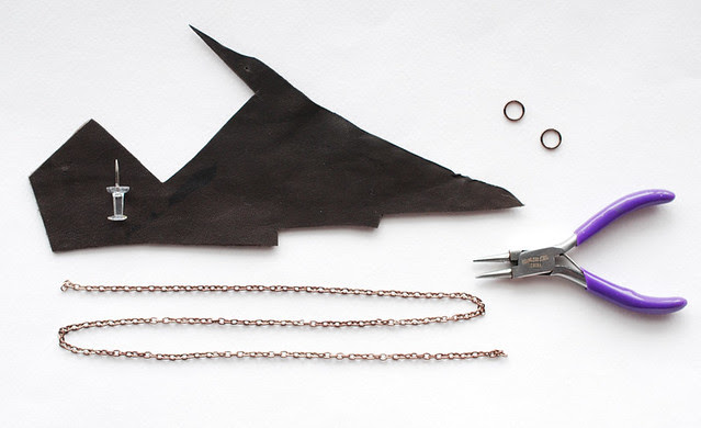 Leather Arrow Necklace