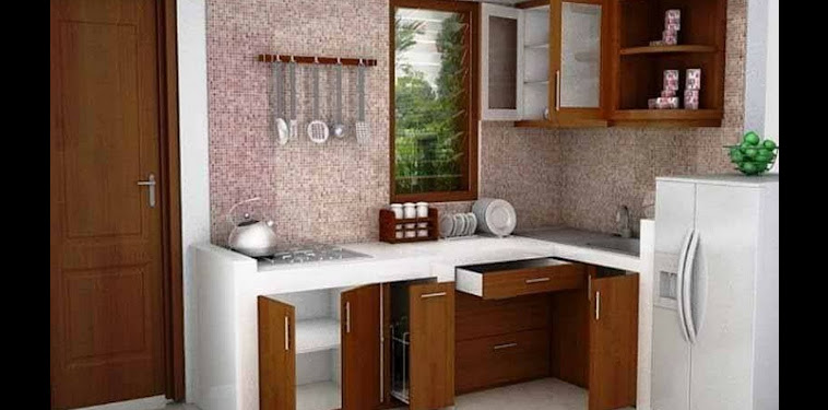 Dekorasi Gambar Desain Dapur Cantik Minimalis Terbaru