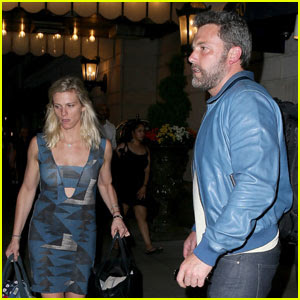 Ben Affleck & Lindsay Shookus Check Out of NYC Hotel