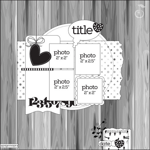 scrapbooking sketch ideas