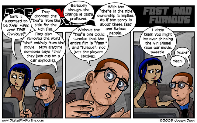 Click the comic for Joe's review.
