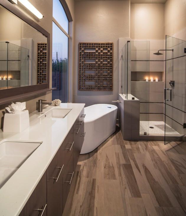 15 Mesmerizing Luxury Contemporary Bathroom Designs You ...