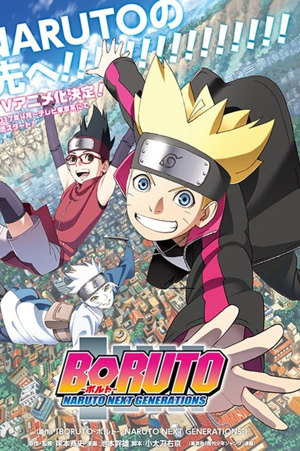 Boruto: Naruto Next Generations Subtitle Indonesia All Episode
