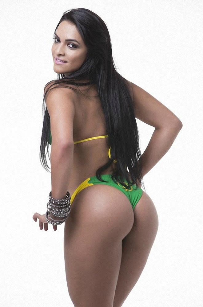 Debora Dantas, представительница штата Параибо. Miss Bumbum, бразилия, конкурс