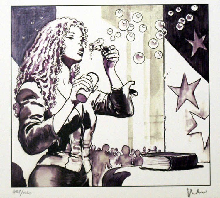 The Star 2 (Limited Edition Print) (Signed) art by Milo Manara Archive
