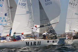 J/24s sailing off Puerto Vallarta, Mexico