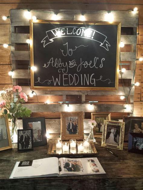 Best 25  Guest book table ideas on Pinterest   Wedding