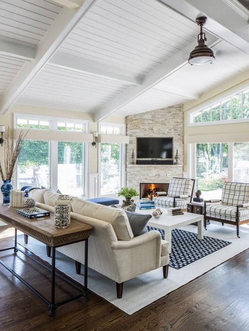 Living Room Design Ideas, Renovations & Photos with a ...