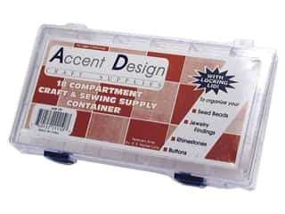 Accent Design Acrylic Organizer Box 18 Compartment