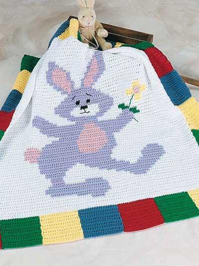 Rufus Rabbit Afghan