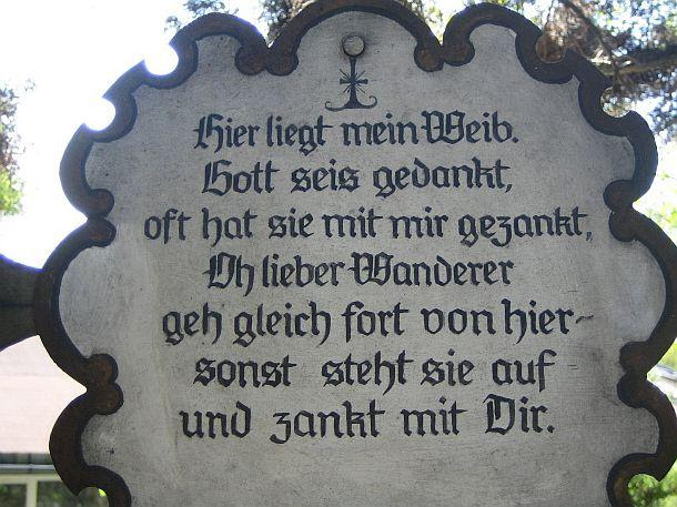 Kuriose Friedhofstafeln Mein Schöner Garten Forum
