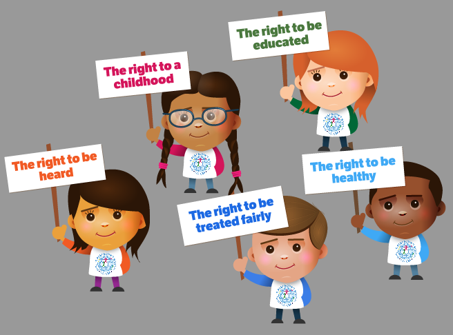 rights of children All children have basic human rights as established in the convention on the rights of the child, a set of international laws adopted by.