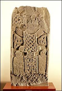 Pictish carved stone