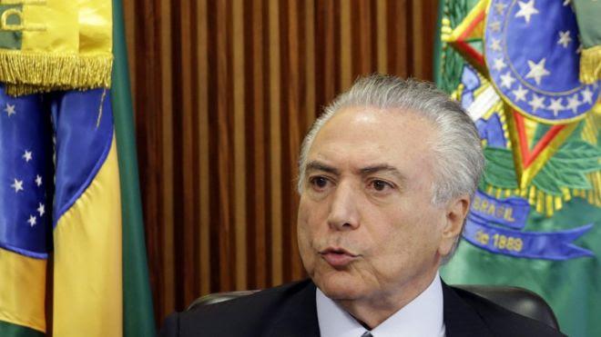 Michel Temer, presidente interino da República